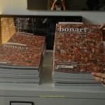 Avance de la presentación de la Revista 'BonArt' con la portada de Alex de Fluvià